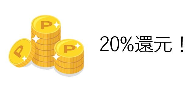 20%還元